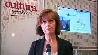 Antonella Giannini video della conferenza stampa a Palazzo Festi (Trento)