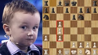 3 Year Old Chess Prodigy Misha vs Anatoly Karpov