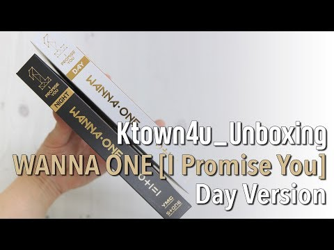 [Ktown4u Unboxing] WANNA ONE - 2nd Mini Album [0+1=1(I PROMISE YOU)] (Day version) 워너원