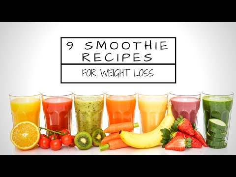 9 Super Smoothie Recipes For Weight Loss with Sally Symonds