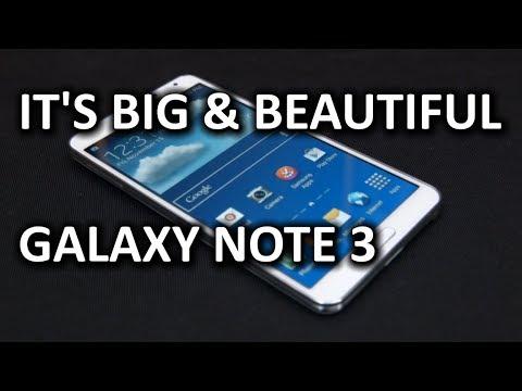 Samsung Note - Magazine cover