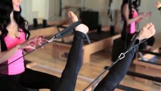 Pilates Reformer'da bacak daireleri egzersizi nasıl yapılır?