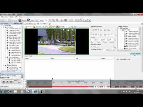 Avigilon Pixel Search Demonstration by AlertSystems Ltd