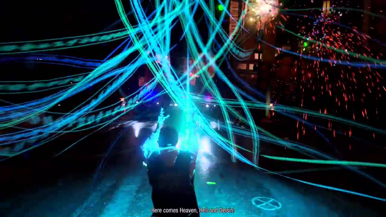 infamous second son hellfire swarm video powers karma bomb youtube. Black Bedroom Furniture Sets. Home Design Ideas