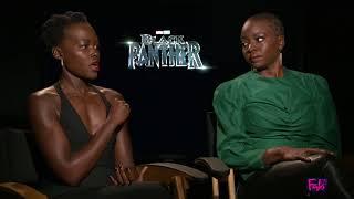 Lipita Nyong'o & Danai Gurira talk about 'Black Panther