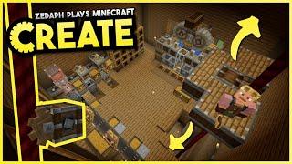Elevating Production! - Minecraft Create Mod #3