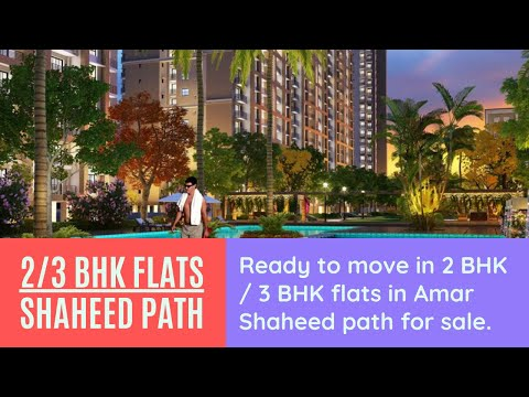 Possession ready apartments flats in amar shaheed path | 91-8081805805