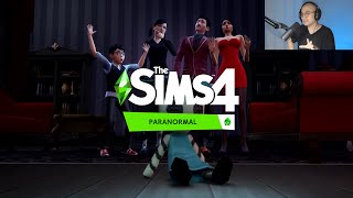 knify REACTS: The Sims 4 Paranormal Stuff Pack Official Reveal Trailer