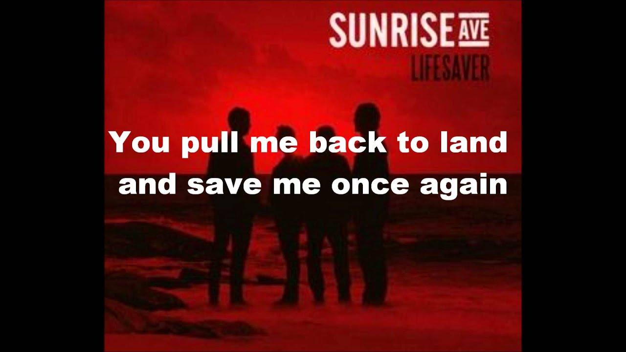 Sunrise Avenue Lifesaver Lyrics