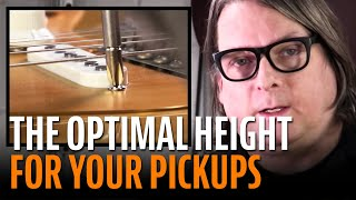 Watch the Trade Secrets Video, How to set the height of your guitar pickups for optimal tone
