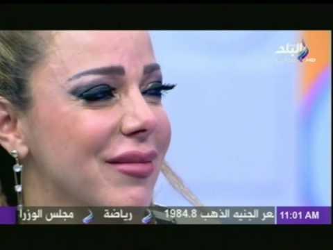 شاهد.. سوزان نجم الدين تنهار على الهواء بسبب أطفالها