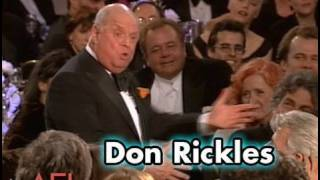 Don Rickles Salutes Martin Scorsese at the AFI Life Achievement Award