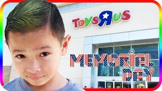 Birthday Toy Hunt at Toys R Us, Happy Memorial Day Fidget Spinner - TigerBox HD