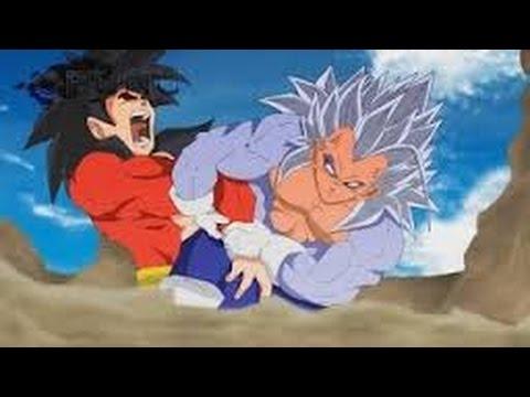 Evil Goku Vs Vegeta ● Super Saiyajin 5 ● Animacion | Mundo Dragon Ball