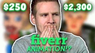 I Paid Animators on FIVERR To Finish My Cartoon...