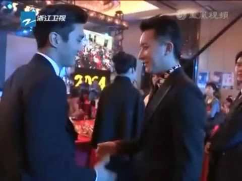 SIWON AND HANGENG'S MEETING 2014 (SUPER JUNIOR)