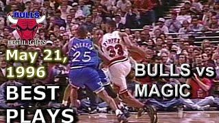 May 21 1996 Bulls vs Magic game 2 highlights