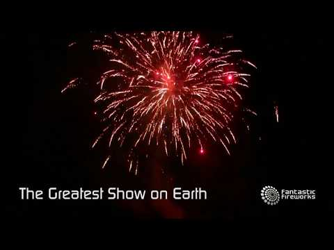 Fantastic Fireworks The Greatest Show On Earth - 200 shot compound firework