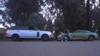 RACING TANNER FOX!! (Range Rover VS GTR) | FaZe Rug
