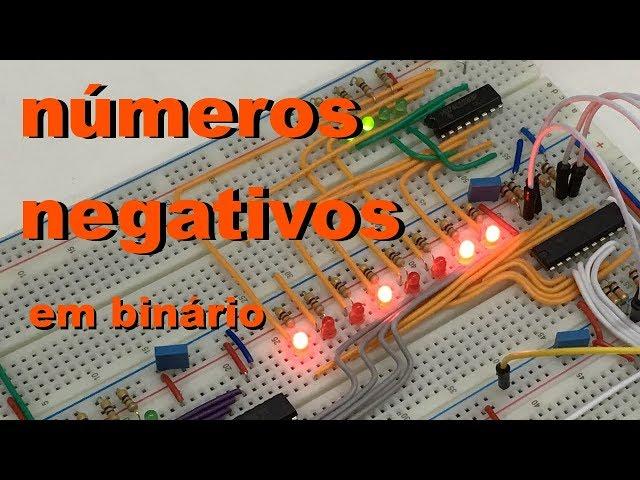 NÚMEROS BINÁRIOS NEGATIVOS | Conheça Eletrônica! #039