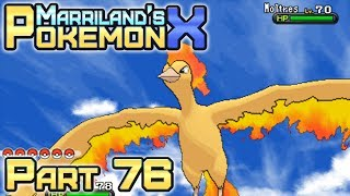 Pokémon X, Part 76: Moltres the Legendary Bird!