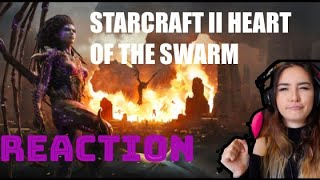 "Starcraft 2: ""Heart of the Swarm"" Cinematic Reaction!"