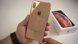 Apple iPhone XS Max (Gold/256GB): Unboxing, Hands On & Erster Eindruck! - touchbenny