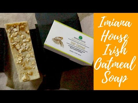 A Must Try Irish Luxurious Soap | Have you tried it? | Imiana House Irish Oatmeal Soap