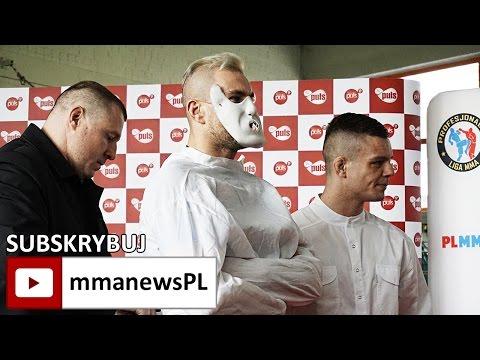 Krzysztof Kułak w kaftanie bezpieczeństwa na konferencji PLMMA 73 (+video)