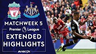 Liverpool v. Newcastle United | PREMIER LEAGUE HIGHLIGHTS | 9/14/19 | NBC Sports