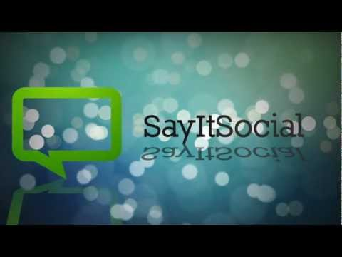 SayItSocial In 3 Minutes - Social Business Training, Corporate eLearning