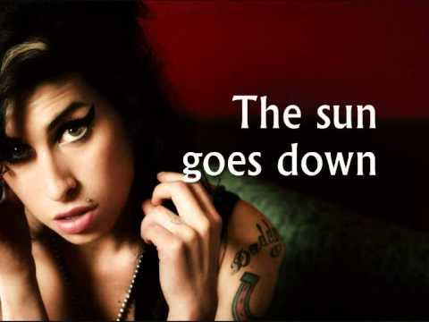 Amy Winehouse - Tears Dry On Their Own (Lyrics) - YouTube