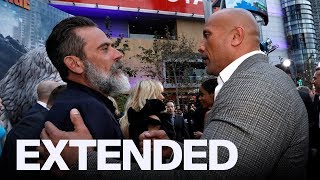 Jeffrey Dean Morgan Thinks 'The Rock' Smells Delicious   EXTENDED