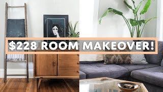 THRIFTED LIVING ROOM MAKEOVER TOUR (Episode 4)