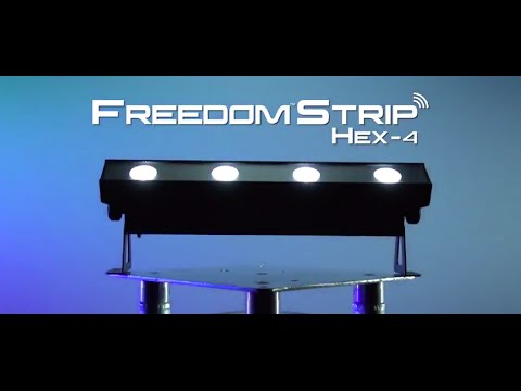 Chauvet DJ Freedom Strip Hex-4 D-FI Wireless Linear Wash Light