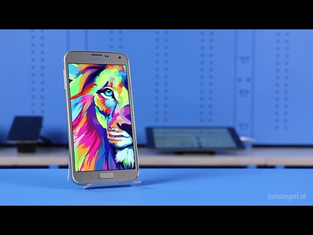 Belsimpel-productvideo voor de Samsung Galaxy S5 Neo G903F Black