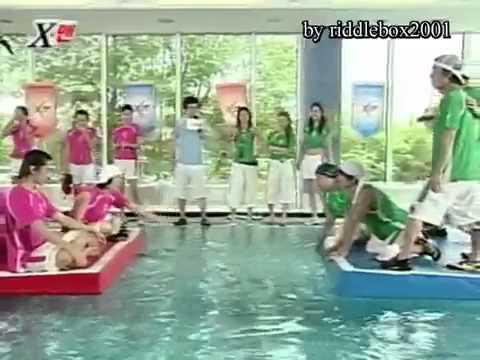 Funny Water Elimination Game feat. Shinhwa eng sub