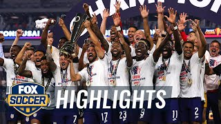 USMNT win dramatic Gold Cup final over Mexico in extra time, 1-0   2021 Gold Cup