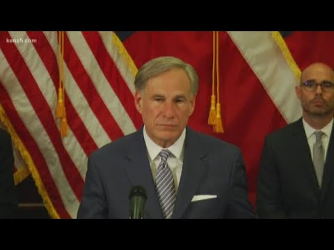 Gov. Abbott announces plans to re-open the Texas economy in stages