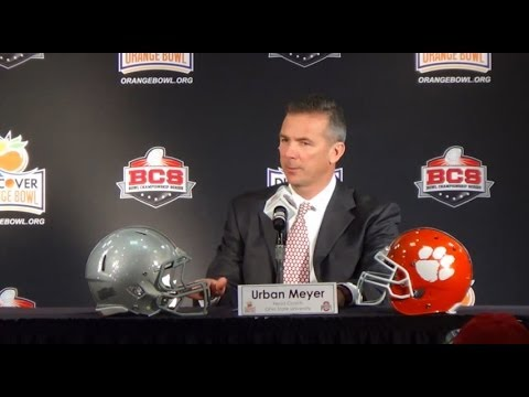 2014 Discover Orange Bowl | Ohio State Head Coach - Urban Meyer