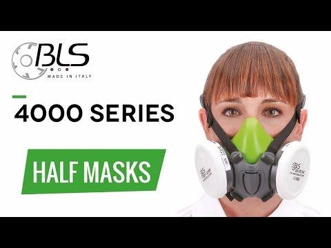 Kobra 4000S Half Mask & Filters