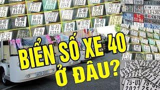 Biến số xe 40 Ở đâu 100 người thì 99 người chưa biết hết biển số xe máy ô tô 64 tỉnh thành Việt Nam