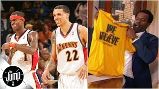 Matt Barnes and Stephen Jackson reminisce about 'We Believe' Warriors and Oracle Arena | The Jump