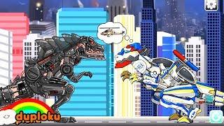 Game Robot Dinosaurus Dino Robot T-Rex Corps - Game Review Duploku