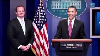 Obama's Funny Good Bye to Press Secretary Robert Gibbs