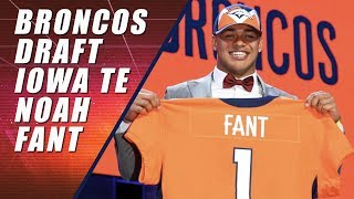 Broncos Draft Noah Fant in First Round