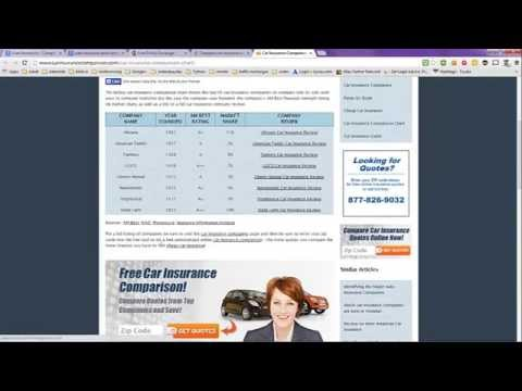 Auto Insurance -- Compare Prices Easily Using Search Engines
