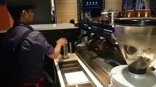Latte art.....mccafe