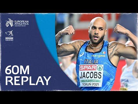 Men's 60m Final | Torun 2021