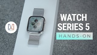 Unboxing a CUSTOM Apple Watch Series 5
